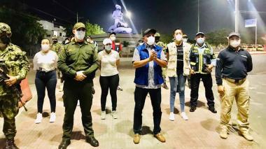 Buen comportamiento ciudadano durante confinamiento en Riohacha