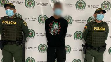 Recapturan a presunto ladron violando toque de queda en Montería