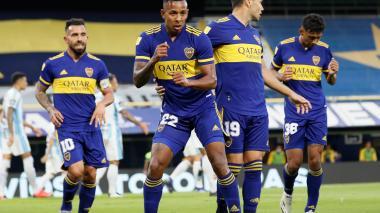 Gol de Sebastián Villa en el Boca vs. Atlético Tucumán