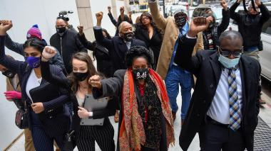 Tensión ante fin del juicio por muerte de George Floyd