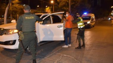 Desde las 10 p.m. rige toque de queda en Cartagena