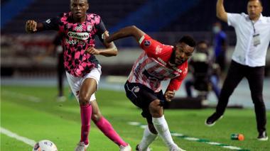 Junior vs. Santa Fe por Copa Libertadores en el estadio Metropolitano