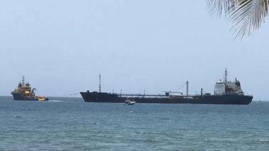 Zarpa de Santa Marta el buque 'Nissi Commander l'