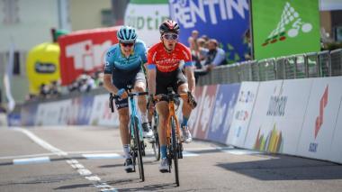 Pello Bilbao gana la cuarta etapa del Tour de los Alpes