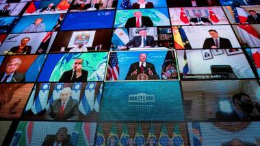 Estados Unidos: Cumbre cambio climático Joe Biden habla sobre cero emisiones