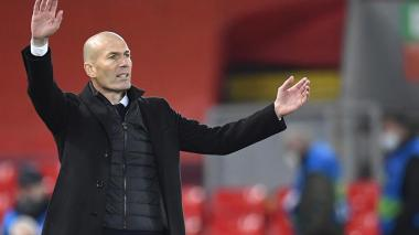 Zidane dice que su equipo tiene derecho a jugar la Champions