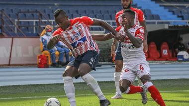Junior vs Santa Fe: partido de ida cuartos de final Liga colombiana
