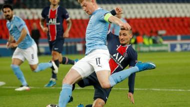 De Bruyne dijo que el Manchester City tuvo suerte con su gol