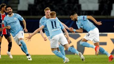 El City remonta ante el PSG y se acerca a su primera final de Champions