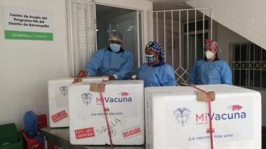 Se restablece aplicación de segundas dosis para mayores de 70 en Barranquilla