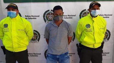 Capturan a presunto asesino de un hombre en Luruaco