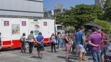 Barranquilla, con tendencia a la baja en contagios por covid-19