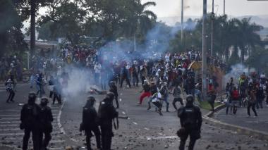 Declarada ilegal la captura de los 14 manifestantes del paro