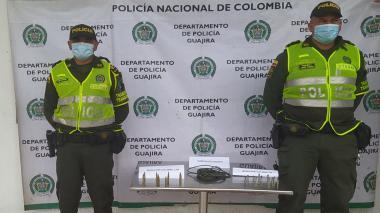 Policía incautó cordón detonante para explosivos y munición para fusil