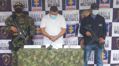 Legalizan captura de presunto secuestrador de excapitán de Ejército