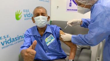 Montería avanza un 78 % en aplicación de vacunas contra el covid