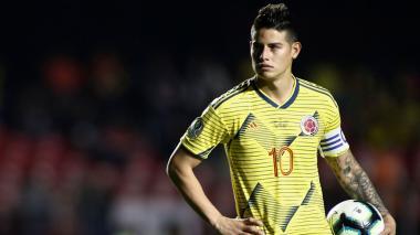 James Rodríguez se pronuncia sobre situación en Colombia por paro nacional
