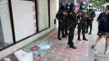 Piden no utilizar a los menores para vandalizar protestas en Santa Marta