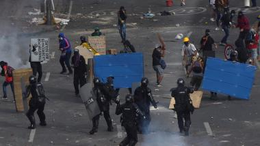 """ONU denuncia un """"uso excesivo de la fuerza"""" durante protestas en Colombia"""