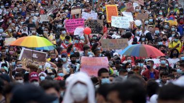 Este es el recorrido de la marcha en Barranquilla