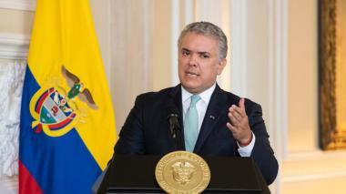 Iván Duque dice que la Copa América sí se jugará en Colombia