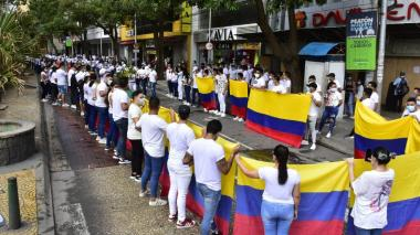 """""""El centro de Barranquilla no apoya la violencia"""": comerciantes"""