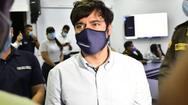 Alcalde Pumarejo lamenta lo sucedido a Cristian Barrios