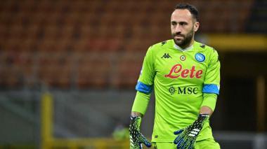 David Ospina vuelve a los entrenamientos con el Nápoles