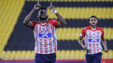 Junior vs. Fluminense en Guayaquil