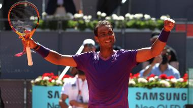 Rafael Nadal clasifica a cuartos de final en Madrid