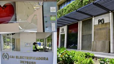 Comercio, el más golpeado por el vandalismo en Barranquilla