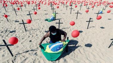 Sao Paulo registra más muertes por covid que Colombia, España o Alemania