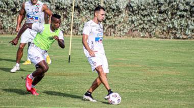 Junior vs. River Plate por la Copa Libertadores Marlon Piedrahita