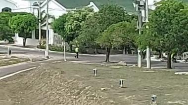 Balacera entre ladrones y policías en barrio Miramar tras intento de hurto