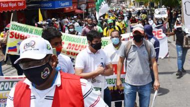 Marchas en la región Caribe este 12 de mayo