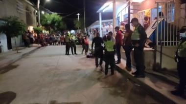 Dos muertos y una herida deja atentado en Santa Marta