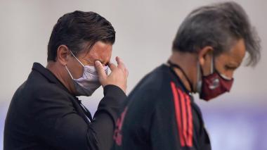 Marcelo Gallardo habla de la situación en la que le tocó jugar en Barranquilla