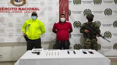 Capturan a sindicado de ordenar homicidios en área metropolitana de Montería