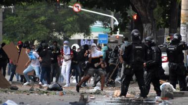 Mindefensa entrega balance de 16 días de protestas en Colombia