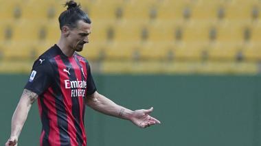 Zlatan Ibrahimovic se pierde la Eurocopa con Suecia por lesión de rodilla