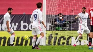 Real Madrid vs. Athletic Club liga de españa