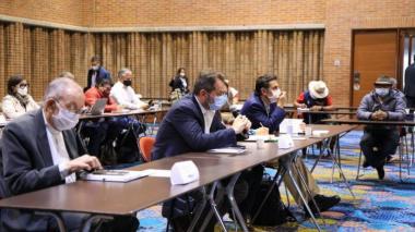 Comisión de Paz pide gestos de confianza entre las partes del paro