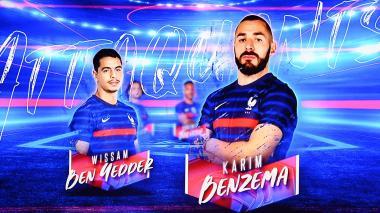 """""""Estoy muy orgulloso de este regreso a la selección francesa"""": Benzema"""