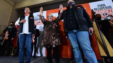Paquita la del Barrio, una candidata política que le canta a sus electores