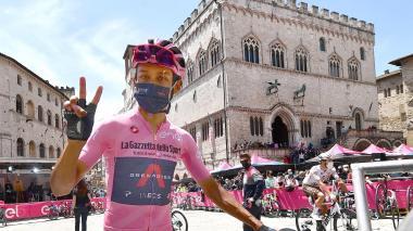 Egan Bernal habla sobre la undécima etapa del Giro de Italia