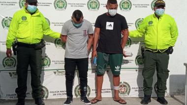 Atrapan a dos de la banda 'Los  Colinas' por homicidio en Santa Marta