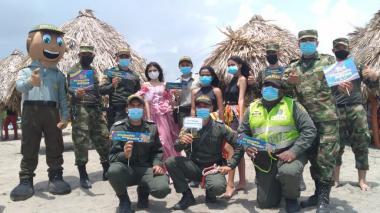 Policía y Ejército fortalecen unión con la comunidad