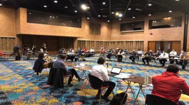 Gobierno y Comité de Paro retoman mesa de negociación