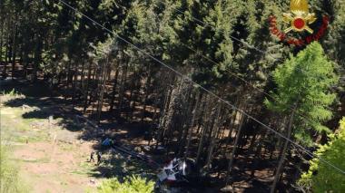 Trágico accidente en teleférico en Italia
