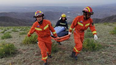 Mueren 21 corredores por el frío durante una carrera de montaña en China